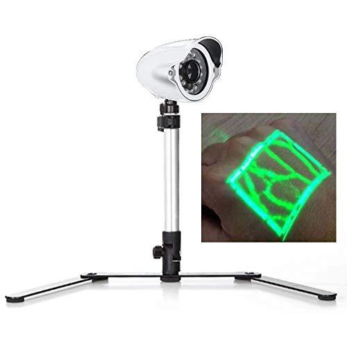 Visor infrarrojo del buscador de venas, detector portátil de iluminación de venas adecuado para adultos y niños 5 modos longitud ajustable 350 * 200 * 150 mm