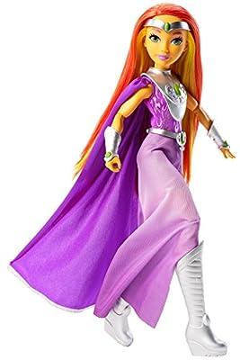 "Mattel DC Super Hero Girls Premium Starfire Action Doll, 12"""