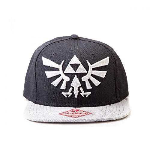 The Legend of Zelda - Casquette de Baseball - Homme noir noir/gris