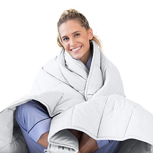 LUNA Adult Weighted Blanket | Individual Use - 15 lbs - 60x80 -...