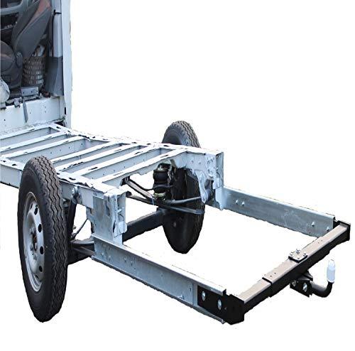SMV de Metal GmbH Remolque AHK 12,5KN para caravanas/Viaje Mobile Incluye Marco garantía Fiat Ducato X250
