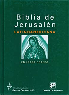 Biblia De Jerusalen Latinoamericana En Letra Grande (Spanish Edition)