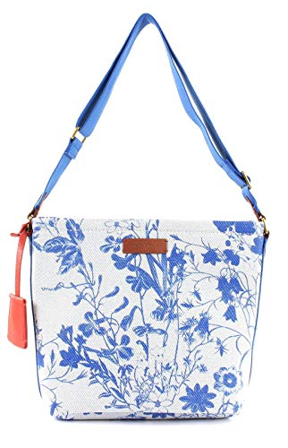 Marc O'Polo Elina Hobo Bag M Calico Blue
