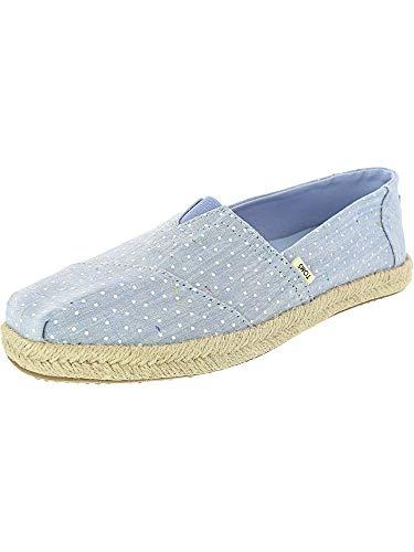 TOMS Damen 10013520 Espadrilles, Blau (Bliss Blue 001), 39 EU