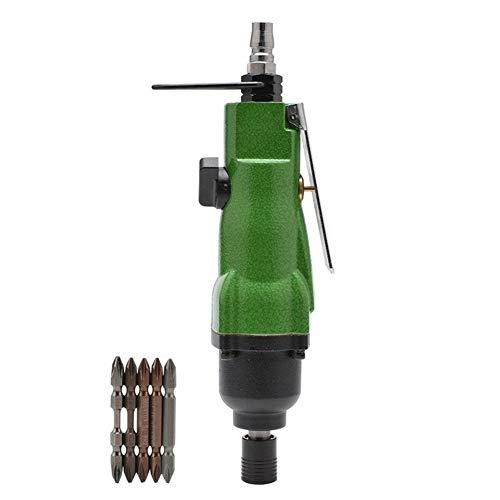 liuchenmaoyi Clavador de Palma 8000rpm Destornillador neumático Aire Destornillador Potente Aire lotes, Herramienta de Mano de Calidad Industrial Martillo neumático