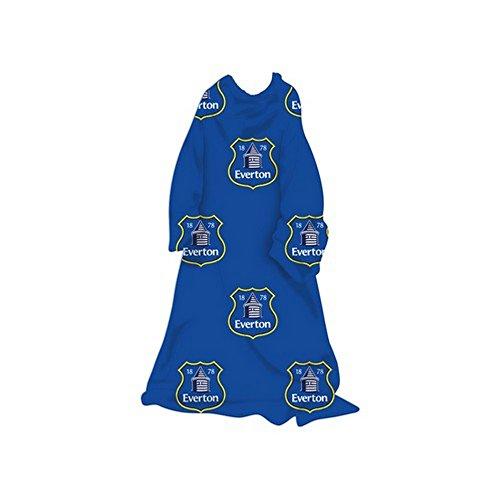 Everton FC Oficial - Batamanta Polar Infantil para niños niñas (Talla Única) (Azul/Blanco)