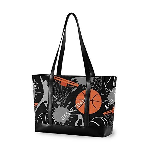 RELEESSS - Bolsa para ordenador portátil, diseño de jugador de baloncesto
