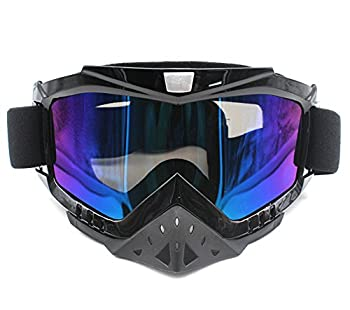Motorcycle Goggles Nuoxinus Adult Motocross ATV Dirt Bike Off Road Goggle