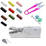 Portable Sewing Machine Mini Portable Smart Electric Tailor Stitch Hand-held Sewing Machine Home Travel
