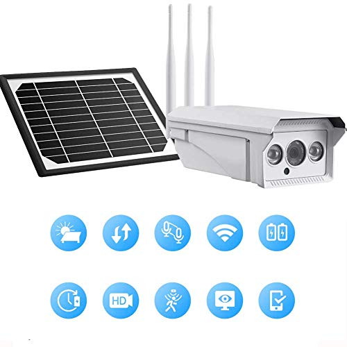 Fantastic Prices! DBM-TOR Security WiFi Outdoor 4G Camera Solar Surveillance Camera Wireless Waterpr...