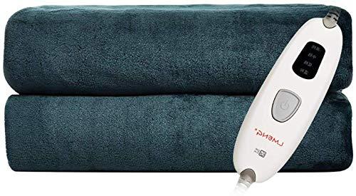Throw verwarmingsdeken, elektrische deken, lichaamspijn, decompressie, warme en zachte deken voor op reis, 160