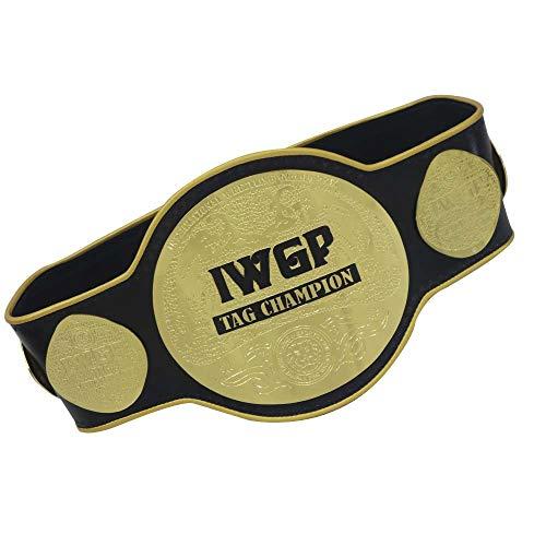 HIGHLANDPOWER IWGP Tag Team Wrestling Championship Title Gürtel, 2 mm, Erwachsenengröße