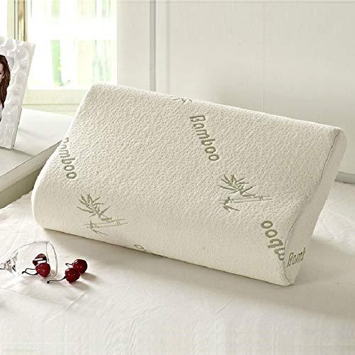 Dormir bambú espuma de memoria ortopédica almohadas Oreiller almohada travesseiro almohada cervicales Kussens Poduszkap
