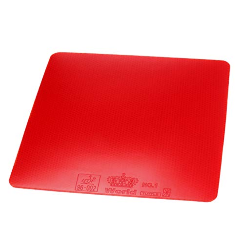 Cheapest Prices! Tongina Ping Pong Paddles Replacement Rubber Table Tennis Bats Racket Rubber - Red