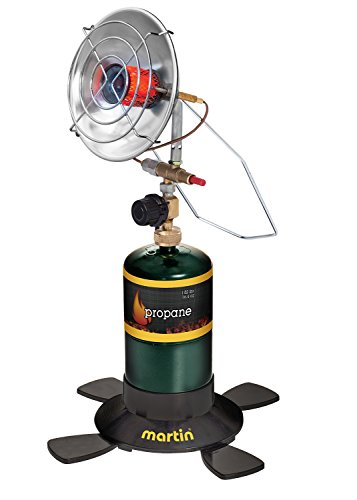 Martin Portable Outdoor Camping Infrared Propane Gas Heater Parabolic