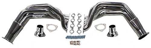 NEW SOUTHWEST SPEED STAINLESS STEEL 55-57 CHEVY FENDERWELL HEADERS FOR BIG BLOCK CHEVY 396-502 ENGINES, TRI-5, STREET ROD, HOT ROD, RAT ROD, NOSTALGIA, VINTAGE, 1955 1956 1957