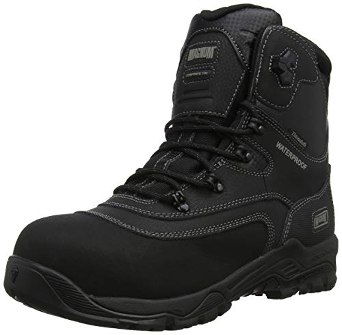 Magnum Broadside 8.0 CT CP WP Insulated, Botas de Trabajo Unisex, Negr