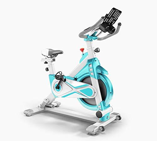 Starry Sky Hometrainer, spinningbike magneetweerstand links en rechts schommelen verstelbare zitting en armleuning vliegwielrand telefoonhouder