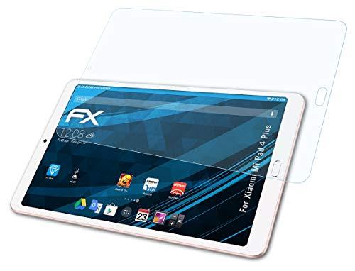 atFolix Schutzfolie kompatibel mit Xiaomi Mi Pad 4 Plus Folie, ultraklare FX Bildschirmschutzfolie (2X)