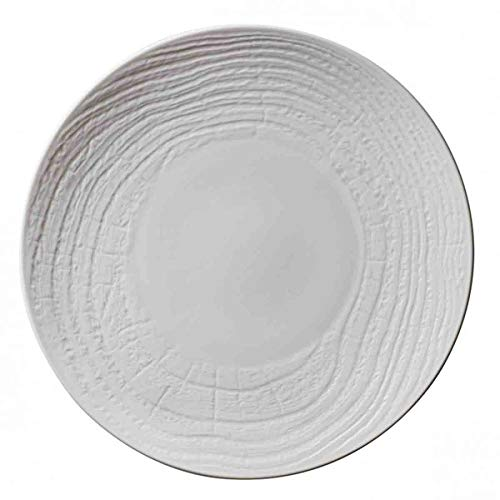 Visiodirect Lot de 2 Assiettes Plates Revol Abro Ivoire - 31 cm
