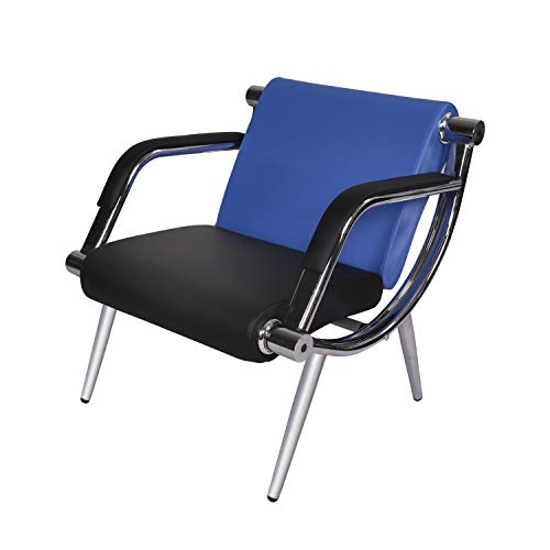 Black Waiting Room Chair PU Leather