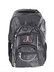 This Backpack is ideal for people who like camping, fishing, hiking, for distant travels. The generous space helps you fit anything you need for an adventure outdoor. Dimensions: W 16 x H 21 x D 2 inches.