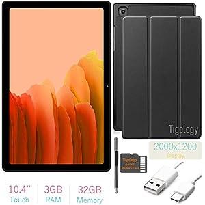 2020 Samsung Galaxy Tab A7 10.4'' (2000×1200) TFT Display Wi-Fi Tablet Bundle, Qualcomm Snapdragon 662, 3GB RAM…