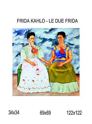 Impresión lienzo Canvas 100% fabricado Italia–Frida