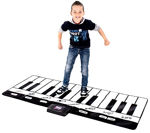 Abco Tech Giant Piano Mat - Jumbo Floor Keyboard with Play, Record, Playback and Demo Modes - New...