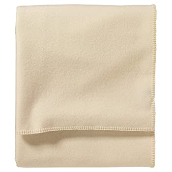 Pendleton Eco-Wise Washable Wool Blanket White Queen