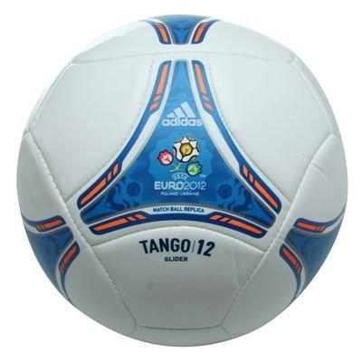 adidas Tango 12 Glider Balón UEFA Euro 2012 White de Blue – 5 ...