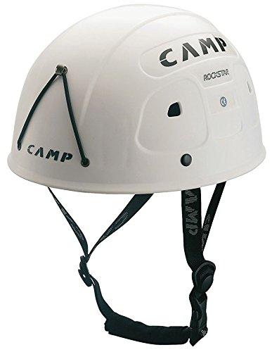 CAMP Rock Star Casco da Arrampicata e Ferrata White ND