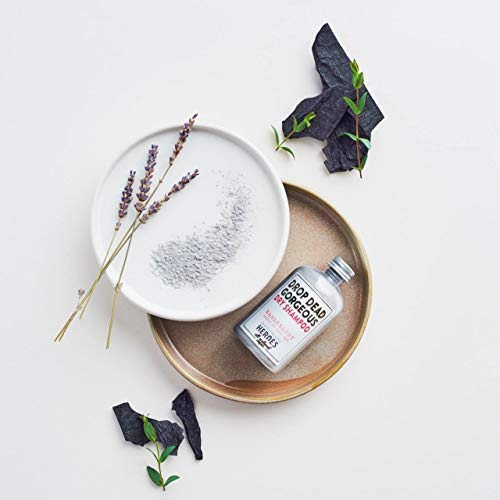 All Natural, Vegan Dry Shampoo Powder (Medium/Dark Hair) By Handmade Heroes