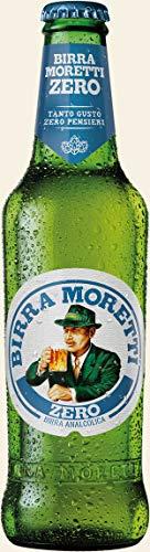 Birra analcolica Moretti Zero 33CL cartone 24pz
