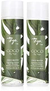 Taya Beauty Moisturizing Shampoo - COCO-WATER Hydrating Fiber Shampoo