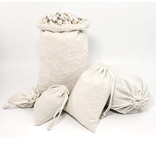 1pc Gemüseaufbewahrungstasche, Leinen Sundries Tee Süßigkeit Nüsse Tasche Lebensmittel Aufbewahrungstasche Wiederverwendbare Tragetasche Für Hauptnahrungsmittelspeicher, 8 * 10cm