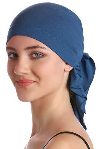 Deresina Unisex Bandana Fur Haarverlust (Carolina Blue)