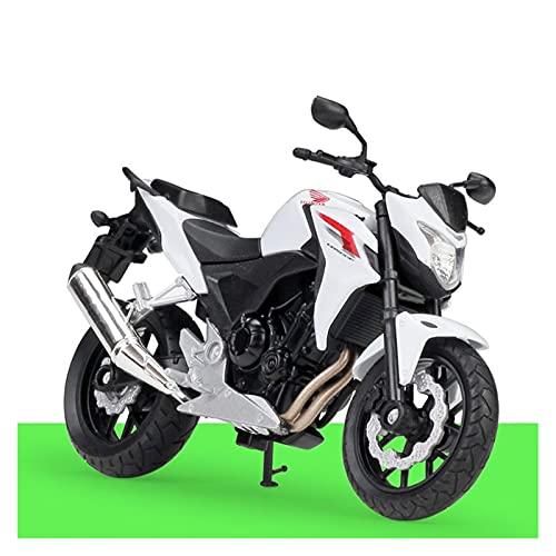 Boutique 1/18 para 2014 HO┐NDA CB500F Motocicleta Enduro Racing Diecast Modelo Dirt Bike Motocross Off Road Réplica Modelo Niños Juguete