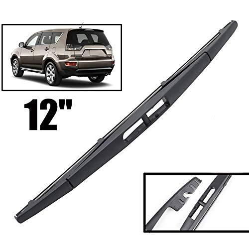 Yubingqin Wiper 10'Kit de fijación de Brazos de Blade de Limpieza Trasera para Renault Scenic 2 / Grand Scenic MK 2 Windshield Windsern 2003 2004-2009