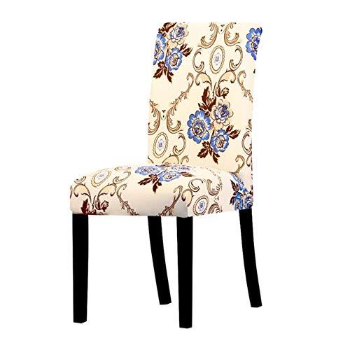 Bedrukte stoelhoes Grote elastische stretchstoel Stoelhoezen Kussenovertrekken Bankhoes Bureaustoelbekleding Thuis Eetkamer Banket, K754, Universele maat