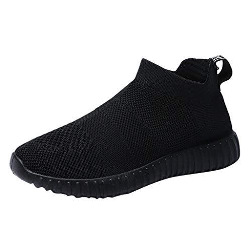 Manadlian Chaussure de Sécurité Confortable de Travail Respirant Légère Baskets de Running Sport Été Femmes de Randonnée Chaussures