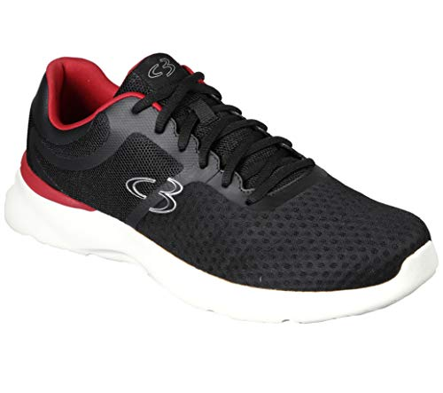 Concept 3 by Skechers Hearn - Zapatillas de deporte de malla con cordones para hombre