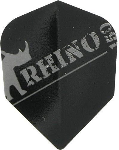 TARGET Rhino 150 Micron Flights, 1 Set = 3 Stück (Schwarz)