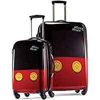 American Tourister Disney Hardside Luggage with Spinner Wheels (Mickey Mouse Pants)