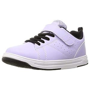 [シュンソク] スニーカー 運動靴 軽量 19~24.5cm 2E キッズ 男の子 女の子 SJJ 8190 9130 ラベンダー 21 cm