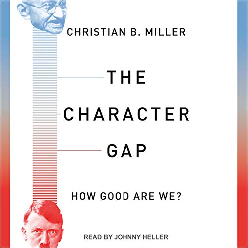The Character Gap audiobook cover art