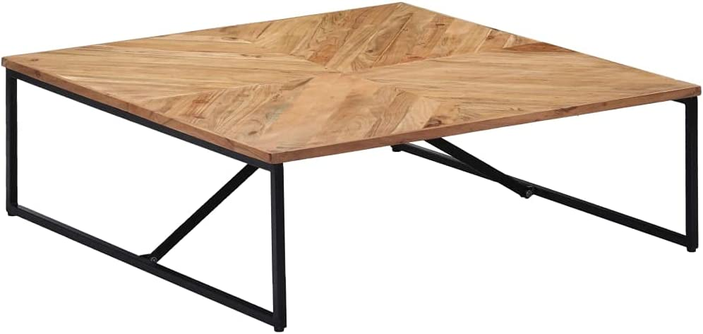 Minimalist Coffee Lowest price challenge Table for Wood Fees free Room Solid Living