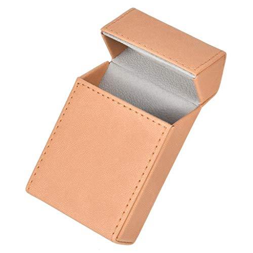 XZJJZ Estuche de Cigarrillos de Estilo Elegante, Soporte de Tabaco, Caja de Cigarrillos portátil, contenedor de protección de Almacenamiento para Cigarrillos de 20 Piezas (Color : A)