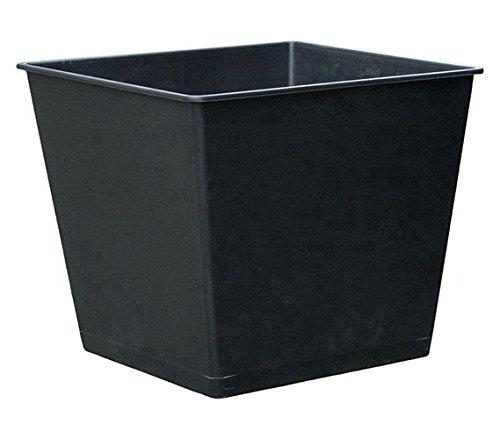 Dehner Universal-Pflanztopf, ca. 30 x 26 x 26 cm, Kunststoff, schwarz