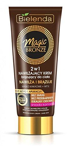 Bielenda Magic Bronze Creme Bronzeador Hidratante Pele Escura 200ml